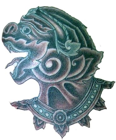 thai hanuman mask thai hanuman amulet thai hanuman tattoo meaning ...