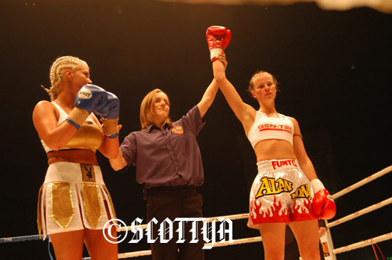 Latasha Marzolla Boxing