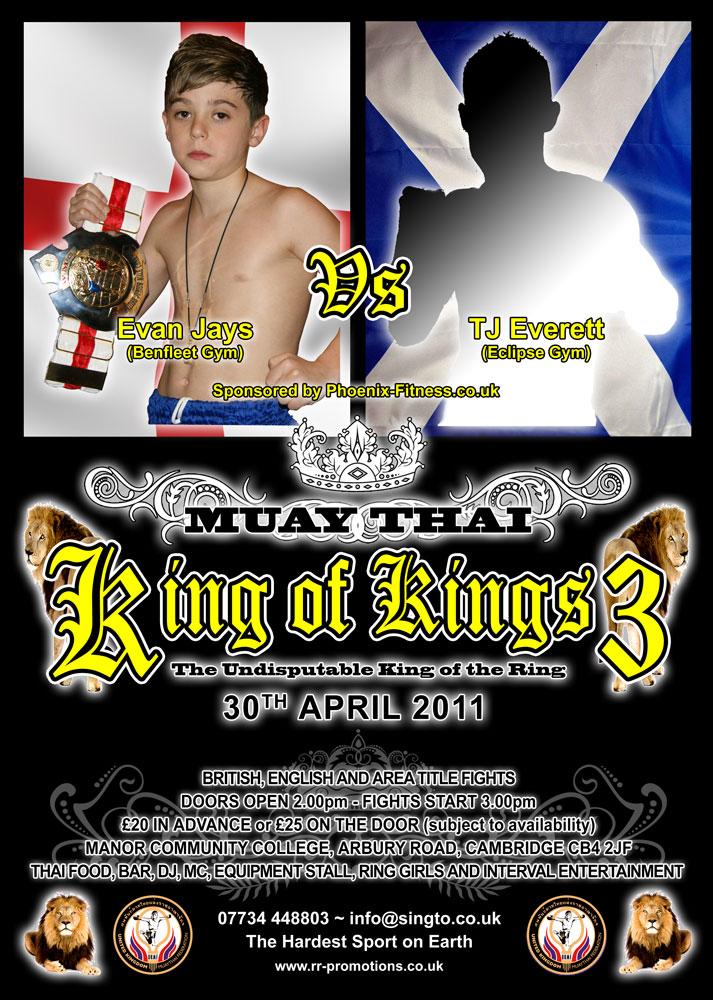 Ax Muay Thai / Kickboxing Forum - King Of Kings 3 - Cambridge 30th ...