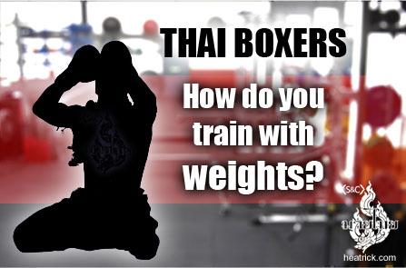 how to train like a thai boxer